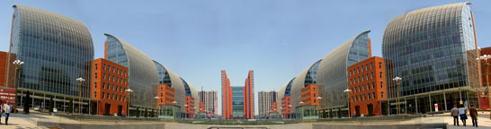 Chinese Financial Center Panorama