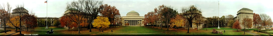 MIT Killian Court Panorama