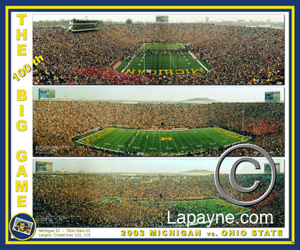 Michigan Football Triple