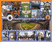 Comerica Park, Detroit Tigers composite photo