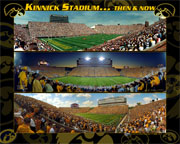 Kinnick Stadium Then and Now