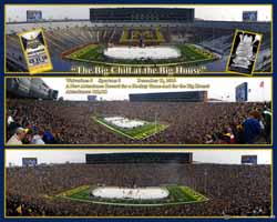 Michigan Hockey at The Big House, Triple Panorama