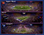 Super Bowl 46 -XLVI- 2012 - Triple Composite