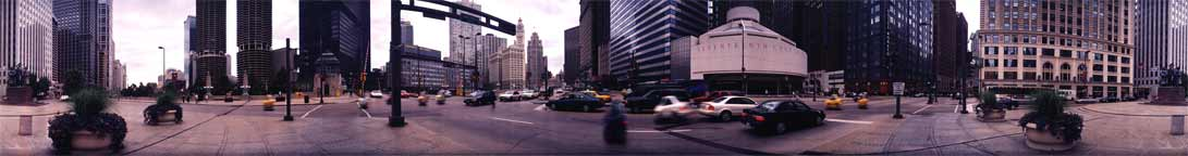Chicago from the Corner of Wabash and Wacker