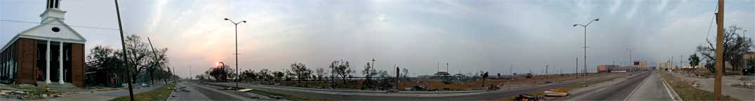 Hurricane Katrina Panoramic