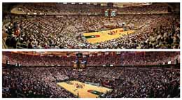 Michigan State Spartan Basketball | 2 Panoramic Deal