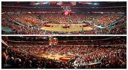 Wisconsin Badger Basketball | 2 Panoramic Prints