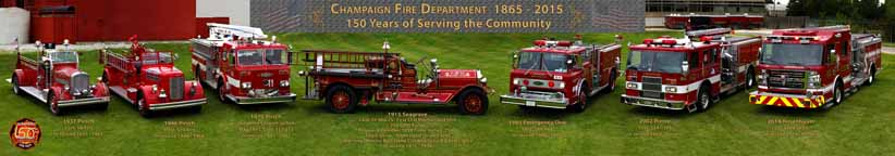 Champaign, Illinois Fire Department 150th Celebration | Photo #2