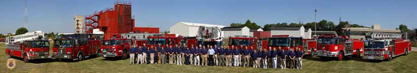 Illinois Fire Service Institute 2010 Staff Panorama