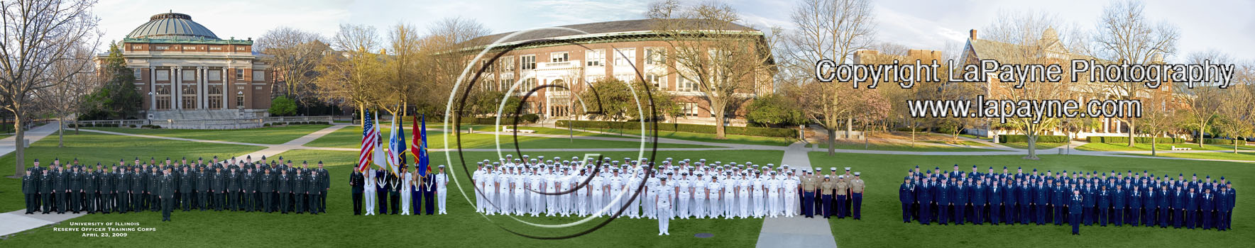 Illinois ROTC 2009 Panorama