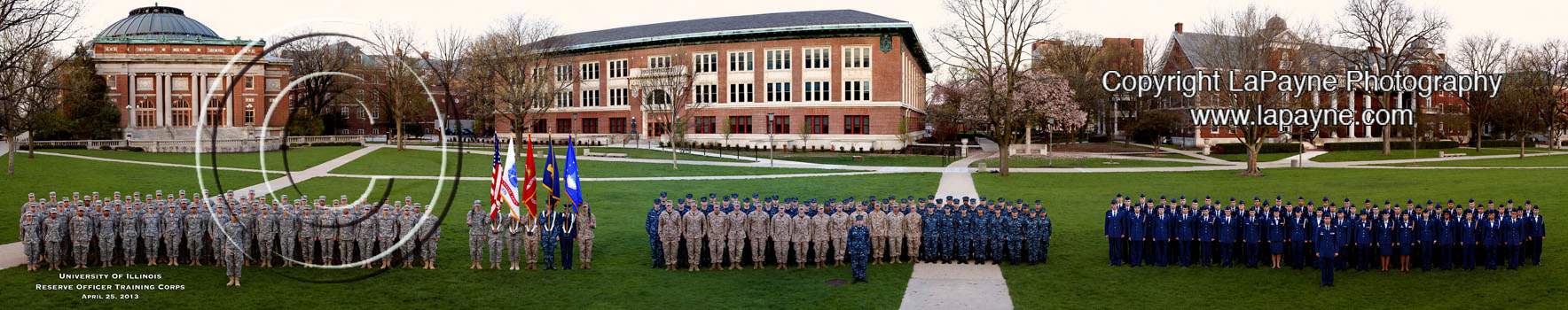 Illinois ROTC 2013 Panorama
