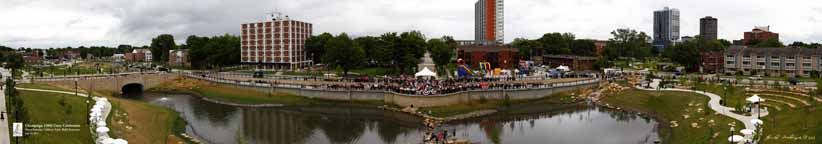 Champaign, Illinois Unity Celebration Panorama