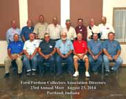 Ford/Fordson Collectors Association Directors - 2014