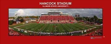 Hancock Stadium 2013 Kickoff | bordered print #110