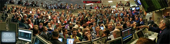 Chicago Board Options Exchange - Trading Pit Panorama