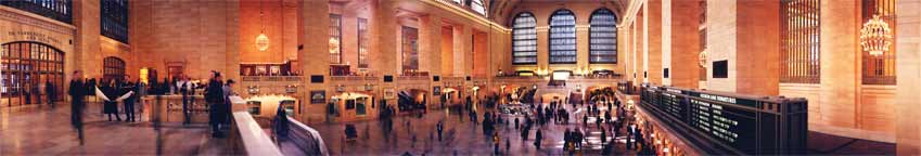 """The Grand Concourse"" at Grand Central Station Panorama"