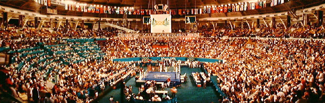 1996 Alexander Memorial Coliseum Olympics Boxing Venue Panorama