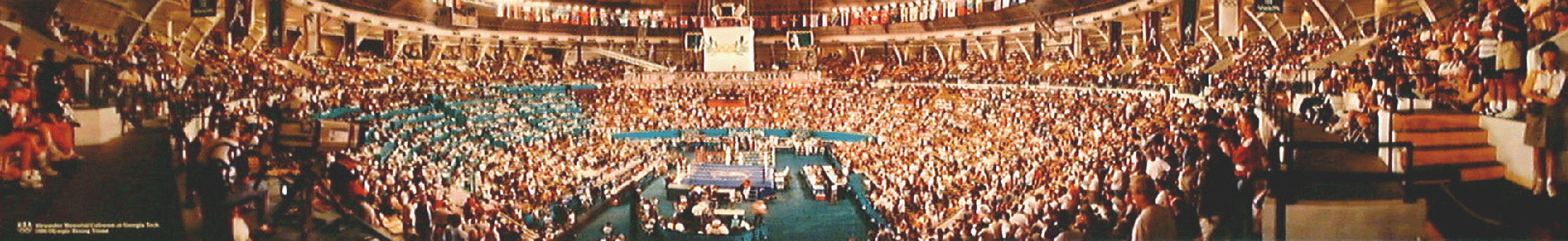 Alexander Memorial Coliseum, 1996 Olympic Boxing Panorama
