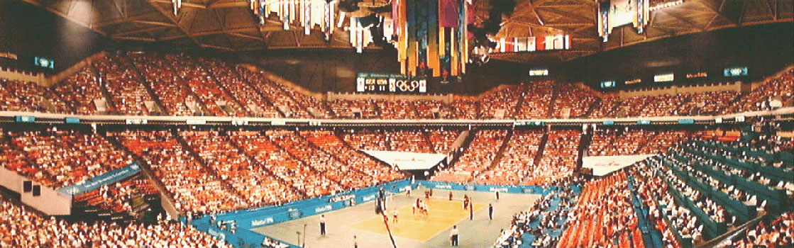 Olympic Volleyball 1996 Panorama
