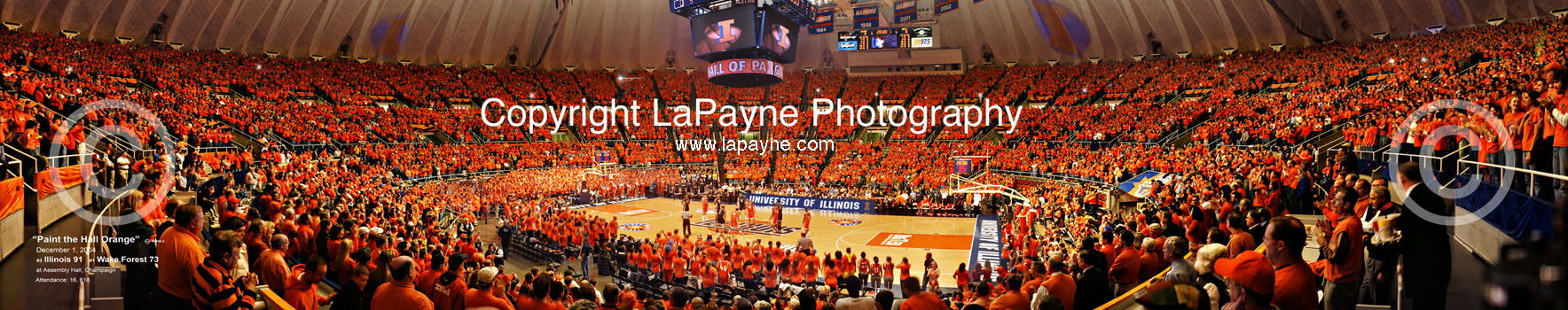 Paint The Hall Orange Panorama