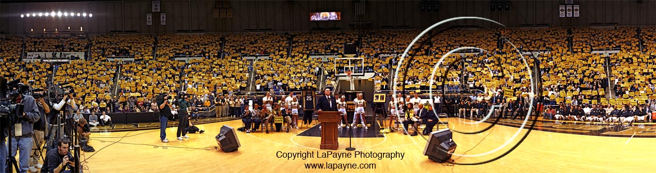 Keady - Floor Shot at Mackey Arena 2005