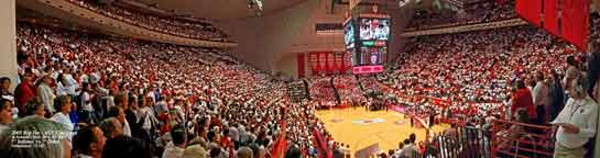 IU Assembly Hall Panorama