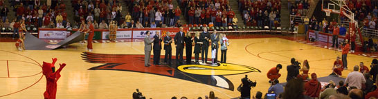 Doug Collins Court Recognition Ceremony Panorama