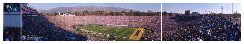 Rose Bowl Kick-off 2001