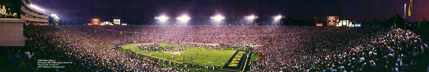 Rose Bowl 1998 - Celebration Panorama