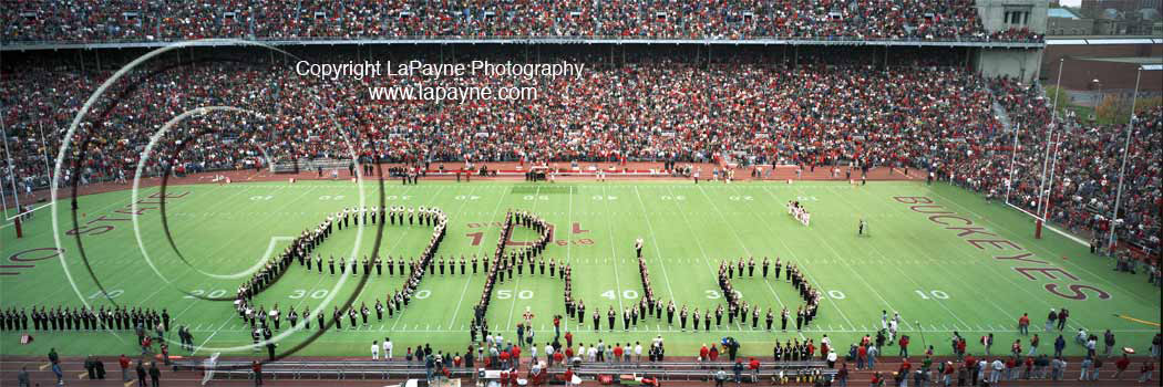 Ohio State Marching Band Panorama