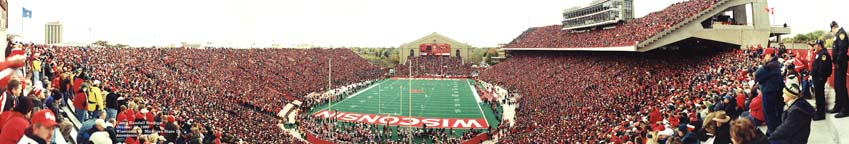 Camp Randall Stadium panorama 1999 - End Zone