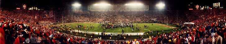 Rose Bowl 2002 - Celebration