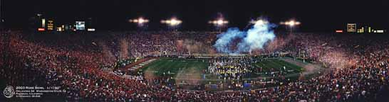 Rose Bowl 2003 - Celebration
