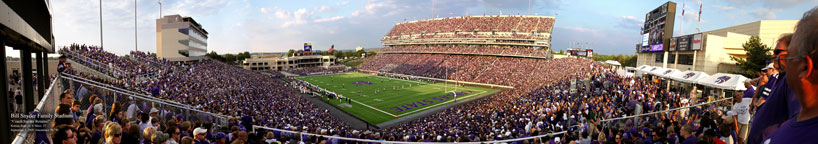 Kansas State, Bill Snyder Family Stadium from the corner