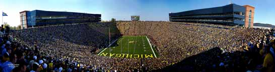Michigan Stadium 2010 - Endzone