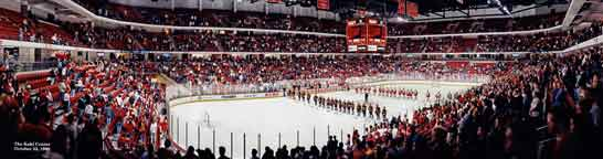 Kohl Center 1999 Badger Hockey Panorama