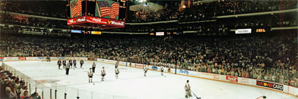 NHL Stanley Cup Playoffs 1990 Panorama