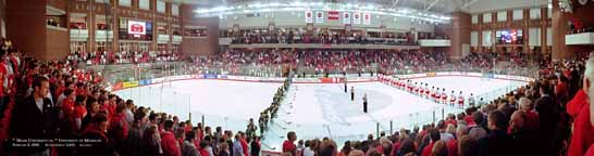 Miami University RedHawks Hockey Panorama
