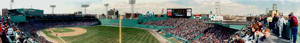 Fenway Park, 1994, Opening Day Panorama