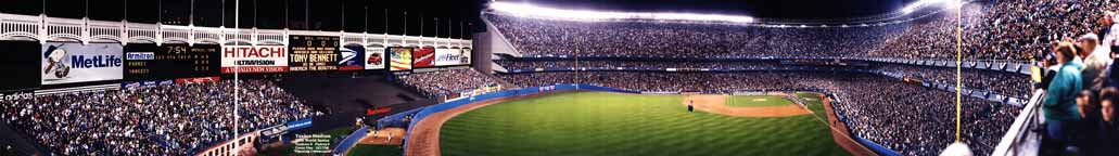 Yankee Stadium 1998 World Series Panorama
