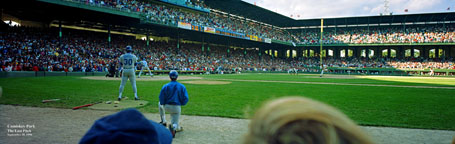 Comiskey Park, Last Pitch Panorama