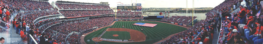 The Great American Ball Park | National Anthem