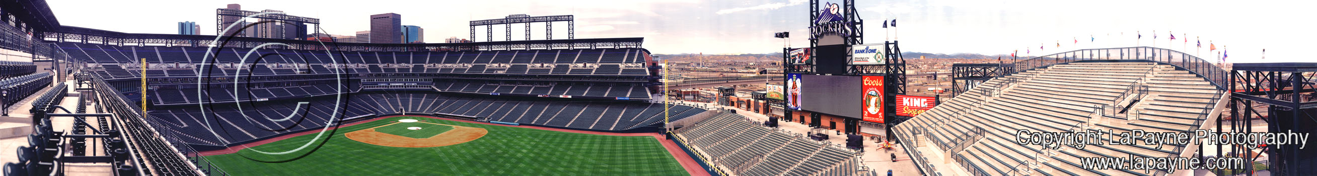 Coors Field Panorama