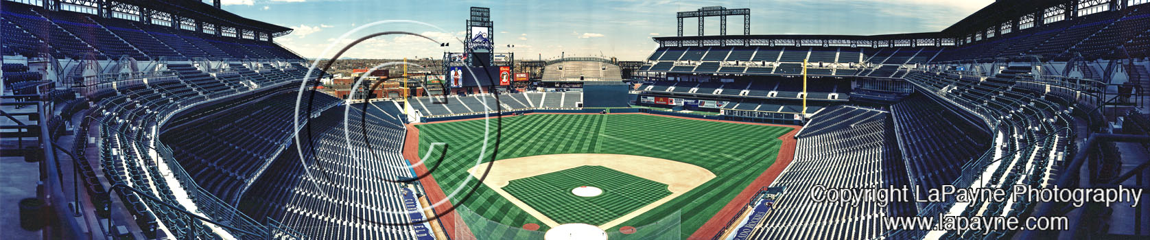 Coors Field 1995 Panorama