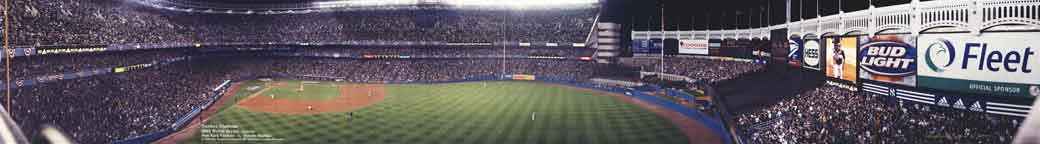 2003 World Series @ Yankee Stadium Panorama