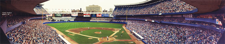 Old Yankee Stadium Panorama