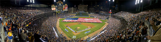 World Series 2006, game one, Opening Ceremonies