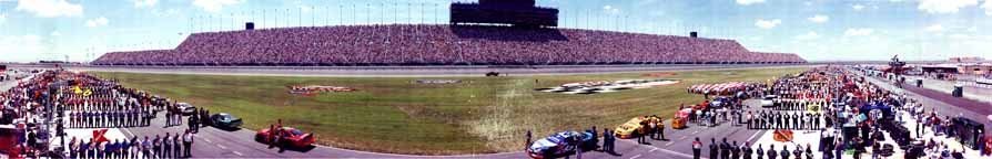 Chicagoland Speedway Panorama