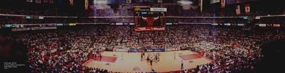 Bulls 1993 NBA Finals - Game 4 Panorama