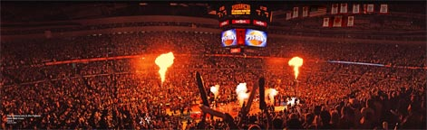 Pistons Player Intros, 2004 NBA Finals